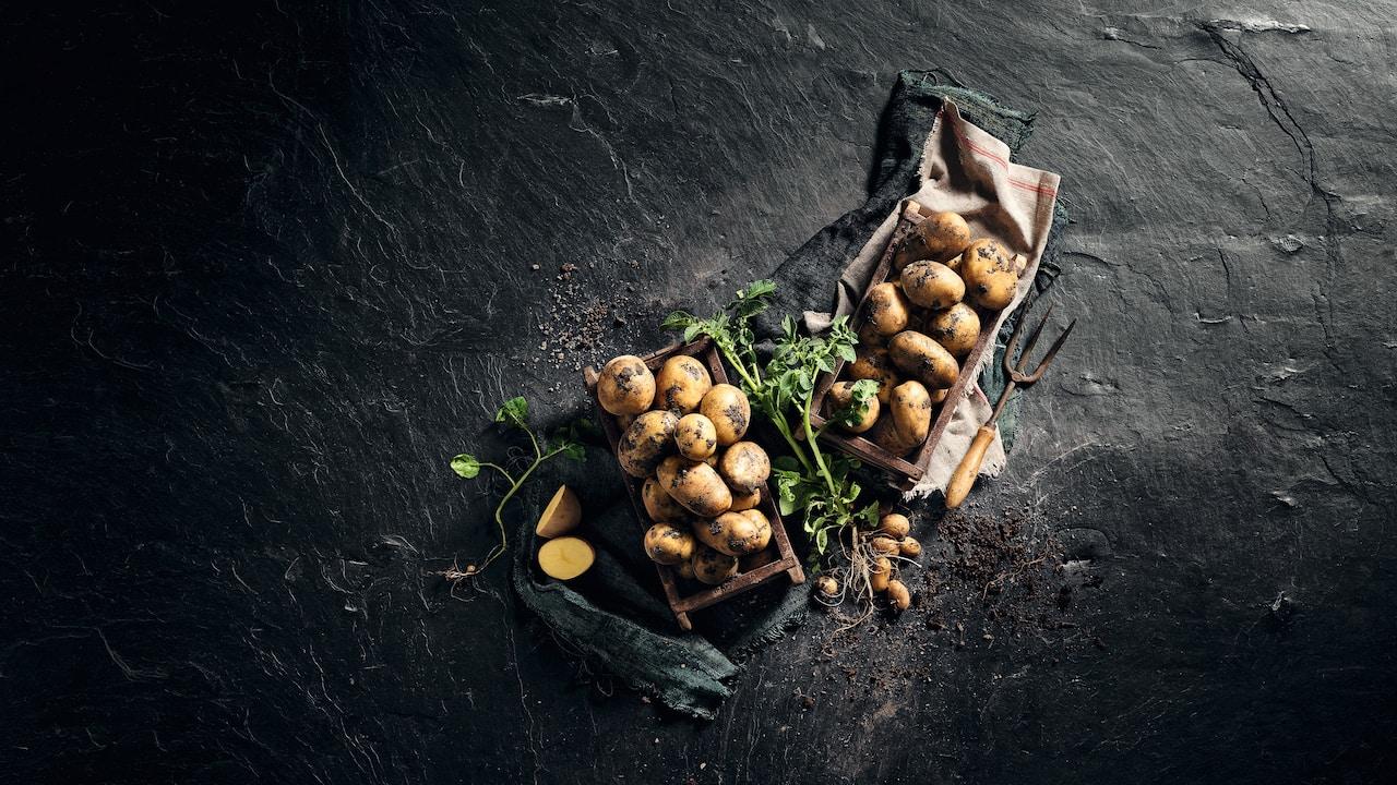 Die leckeren Kartoffeln & Eier